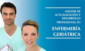 geriatricarea Máster Enfermería Geriátrica