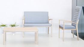 ARIS: una línea de mobiliario geriátrico de elegante diseño nórdico
