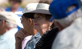 geriatricarea deshidratación de personas mayores
