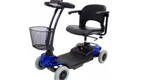 Scooter confortable y seguro para espacios interiores y exteriores