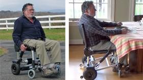 Zinger: una ligera y original silla plegable eléctrica
