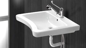 Prestosan 900: un lavabo adaptado a las necesidades de personas con movilidad reducida