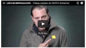 """Ray Loriga protagoniza el vídeo """"La lucha contra el Alzheimer continúa. Haz que este gesto se pegue""""."""