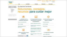 geriatricarea Área de Cuidadores Fundación Caser