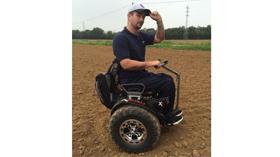 Genny X-Road, una silla para desplazarse por todo tipo de superficies difíciles