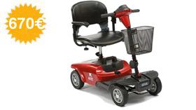 Scooter eléctrico KITE de 4 ruedas