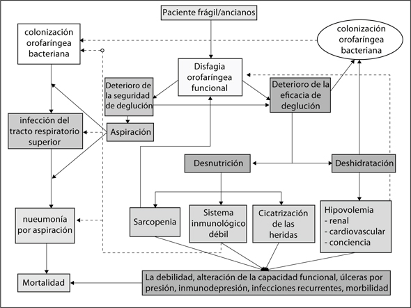 geriatricarea disfagia orofaríngea en pacientes ancianos