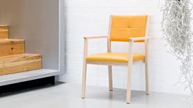 JESS: un sillón ideal para zonas comunes y comedores de residencias