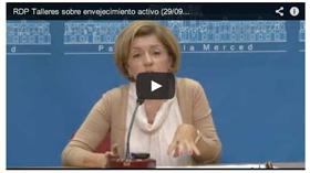Vídeo presentación de los talleres sobre envejecimiento activo de la Diputación de Córdoba
