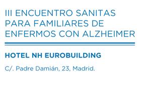 geriatricarea Encuentro Sanitas para familiares de enfermos con alzheimer
