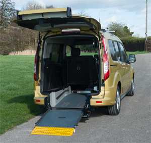 geriatricarea Ford Connect vehículos adaptados Rehatrans