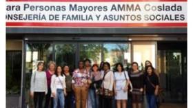 Amma Coslada fomenta la inclusión laboral de personas en riesgo de exclusión