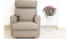 Cómodo sillón relax motorizado y reclinable