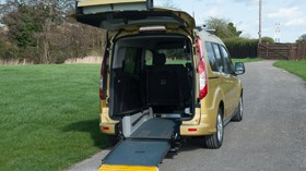 Ford Connect, ahora también para viajar con silla de ruedas
