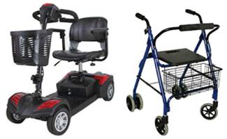 Geriatricarea Obea Chair scooter andador rollator