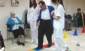 Geriatricarea Terapias de prevención de caídas Sanyres