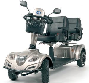 Geriatricarea Vermeiren scooter Carpo Limo