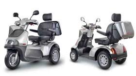 Cómodo scooter de atractivo diseño
