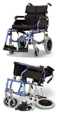 geriatricarea silla de ruedas Aktiv X5