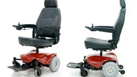 Silla de ruedas eléctrica que combina estilo y funcionalidad