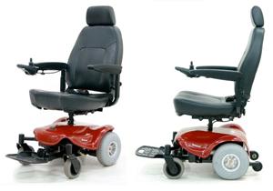 geriatricarea silla de ruedas eléctrica Shoprider