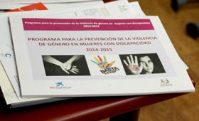 Geriatricarea COCEMFE prevención de la violencia mujeres discapacidad