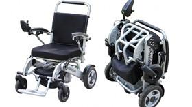 Sorolla: sillas eléctricas plagables, muy ligeras y maniobrables