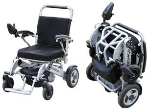 Geriatricarea silla eléctrica plegable Sorolla Obea Chair