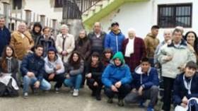 Mayores de Amma Mutilva intercambian experiencias con jóvenes en riesgo de exclusión