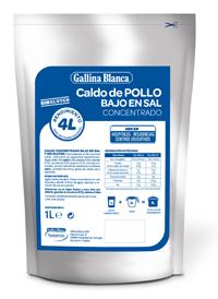 geriatricarea Caldo de Pollo Concentrado Gallina Blanca