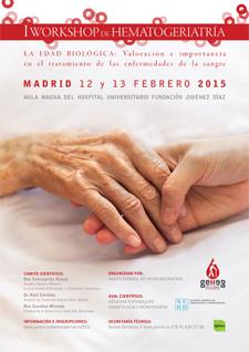 geriatricarea Workshop de Hematogeriatría