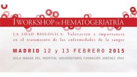 Primer Workshop de Hematogeriatría