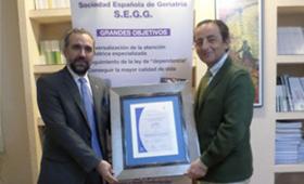 Geriatricarea Certificación Calidad SEGG