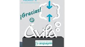 ASPAYM distinguida con el Premio A de Accesibilidad del Ayuntamiento de Ávila