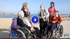 Tres residentes de SARquavitae Fontibre cumplen su sueño de volver a ver el mar