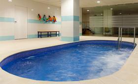 Geriatricarea ejercicio en el agua Lepant Residencial