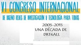 DRT4ALL 2015 – VI Congreso Internacional de Diseño, Redes de Investigación y Tecnología