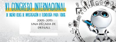 Geriatricarea DRT4ALL Congreso Internacional de Diseño, Redes de Investigación y Tecnología para todos