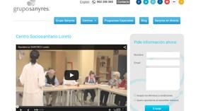 Sanyres estrena web, más completa y accesible