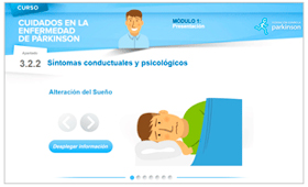 Geriatricarea Federación Española de Parkinson cursos online
