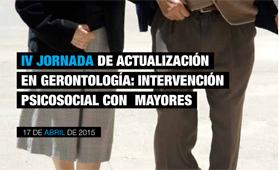 Geriatricarea Jornada CEU Intervención psicosocial mayores