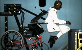 Geriatricarea Rehatrans accidente silla de ruedas