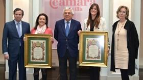 Reyes Queraltó premiada por su trayectoria empresarial al frente de Grupo R. Queraltó