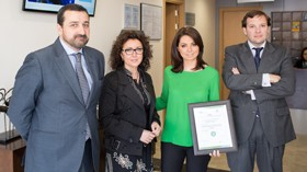 Sanyres Córdoba Centro luce ya la certificación de calidad QSostenible