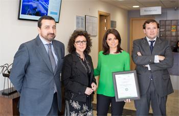 Geriatricarea Sanyres Córdoba certificado calidad QSostenible