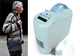 Concentrador de oxígeno portátil para la máxima libertad del usuario - Geriatricarea