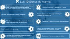 10 signos de alarma para el diagnóstico precoz de Alzheimer