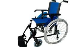 Silla de ruedas para una mejor maniobrabilidad en espacios limitados