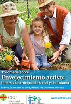 Geriatricarea Jornada sobre Envejecimiento activo en Valencia: bienestar, participación social y ciudadanía