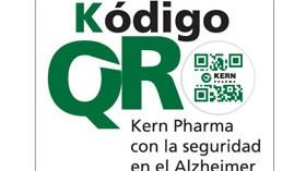 Kern Pharma reparte 8.500 chapas Kódigo QR para pacientes con Alzheimer
